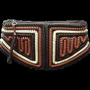 SALE PENDING Vintage Spiral Telephone Cord Handbag/Clutch