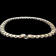 SALE VIntage deLillo Gold Plated Chain  Belt