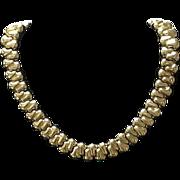 Vintage CINER Chunky Statement Choker Necklace
