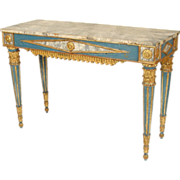 Swedish Louis XVI style console table