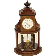 Biedermeier mantle clock
