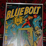 SOLD Golden Age Comic Book 1942 Blue Bolt Vol 3 No 5