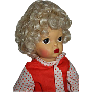 SALE Pat Pending Terri Lee Doll Head Full of Curls Painted Face