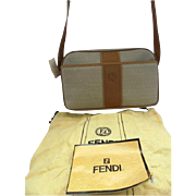 SALE Fendi Vintage New! With Tag, Papers & Dustbag Crossbody 1980s Bag