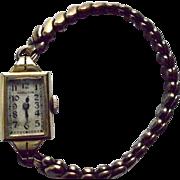 SALE Hamilton Ladies 14K Gold Filled Vintage Wrist Watch