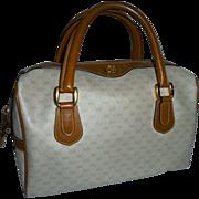 SOLD Vintage Gucci Gorgeous Doctor Bag Cream & Tan Boston Bag