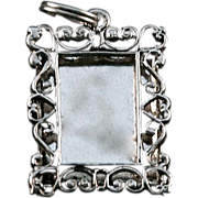Sterling Silver 925 NV Photo Frame Charm