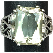 SALE 14k Imperial Topaz Ring, Free Sizing.