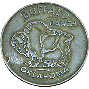 ROUTE 66 BUFFALO RANCH TOKEN COIN