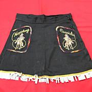 SALE Hopalong Cassidy Skirt