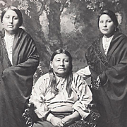 SOLD Native American Indian Photograph Osage Women