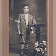 Photograph of Religious Boy