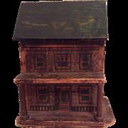 Antique 19th century American dolls house-very rare!
