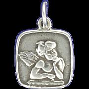 Vintage Sterling Silver Raphael's Angel Charm