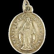French 19c Silver Motherhood Medal