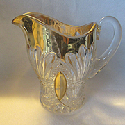 REDUCED Heisey Prince of Wales, Plumes Creamer