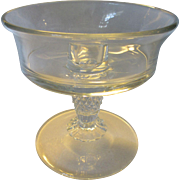 Heisey Plantation Single Epergne Candleholder