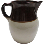 Robinson Ransbottom Brown Stoneware Pitcher