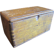 SALE Singer Wooden Puzzle Box and Sewing Machine Accessories