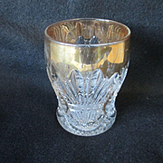 SALE Heisey Prince of Wales/Plumes Flat Tumbler