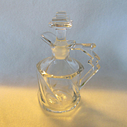 Heisey Twist Oil/Cruet