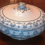 SALE Bishop & Stonier Flow Blue-Marston Pattern 1899-1936 England