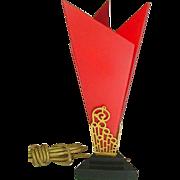SALE Rare Art Deco DeVilbiss Perfume Lamp 1928