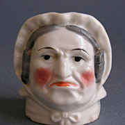 SOLD Staffordshire Figural Penny Bank