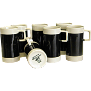 Set of Braniff International Espresso Mugs made by Hall China