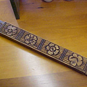 SALE Rare Old Korean Cookie Press with Flower Pattern