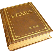 Rare 1967 Leather Bound Sears Catalog Issued to Texas Gov. John Connally