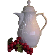 REDUCED Vintage Rosenthal Sans Souci Coffee Pot in Ivory Color
