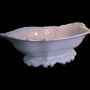 REDUCED Vintage Rosenthal Sans Souci Ivory Color Footed Bowl