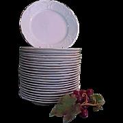 REDUCED Vintage Rosenthal Sans Souci Ivory Color Salad Plates