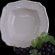 REDUCED Vintage Rosenthal Sans Souci Ivory Color Square Vegetable Bowl