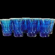 Noritake Blue Perspective 10-oz Tumblers Set of 8