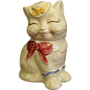 Adorable Shawnee Puss 'n Boots Cookie Jar
