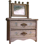 SALE Old Fashioned Eastlake-Style Doll Dresser
