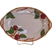 "SALE American Franciscan Apple 12"" Platter"