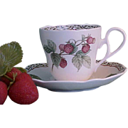 REDUCED Royal Orchard by Noritake Cups and Saucers