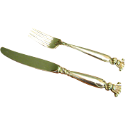 REDUCED Wallace Sterling Romance of the Sea Youth Knife and Fork