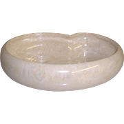 McCoy Pottery Cascade Mother of Pearl Low Bowl
