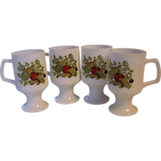 4 Spice of Life Pedestal Mugs