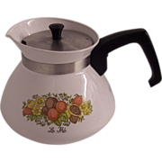 Corning Spice of Life 6 Cup Teapot