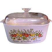 Corning Spice of Life 5 Quart Casserole Dutch Oven