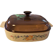 Corning Abundance Fruit 2.5 L Covered Casserole