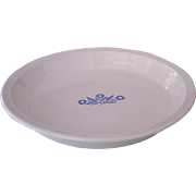 Vintage Corning ware Cornflower Blue Pie Dish