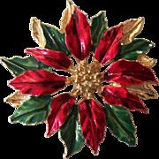 Gerry's Poinsettia Brooch