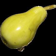 Vintage HAR Figural Pear Brooch