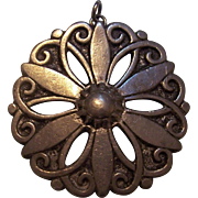 Borje Tennung BT Sweden Pewter Pendant